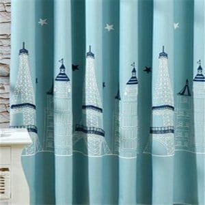 Toren gordijn