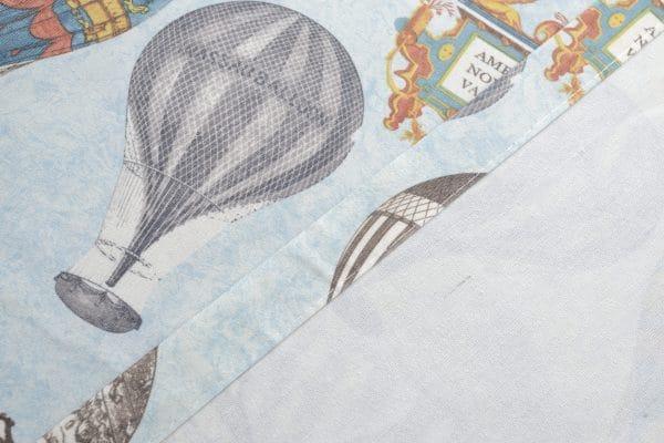 Lucht ballonnen gordijn