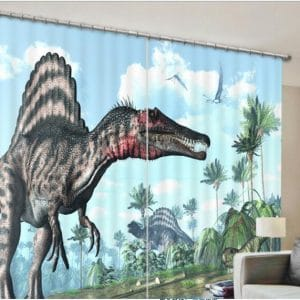 Dino Spinosaurus 3D gordijnen