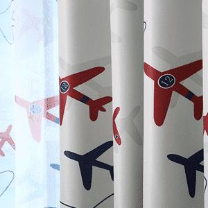 Vliegtuig gordijnen