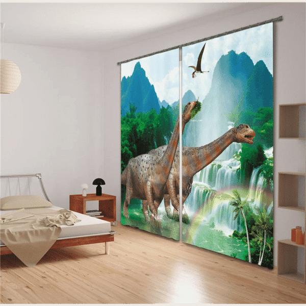 Dino gordijn