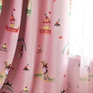 Icecream gordijnen kleur Roze