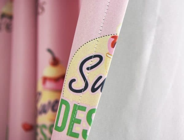ijsjes gordijn