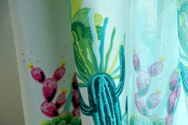 Cactus gordijnen