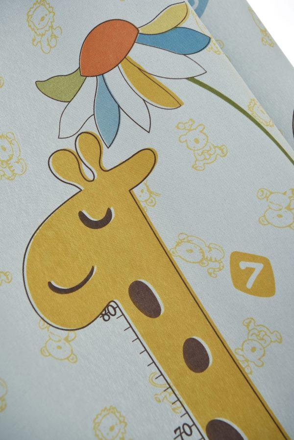 Giraffe gordijn