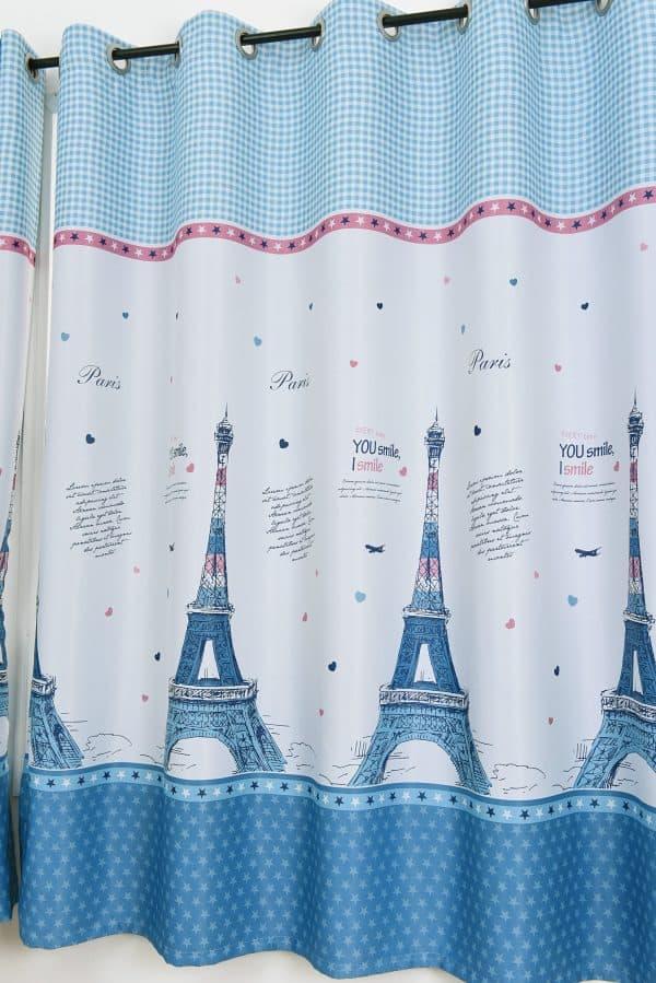 Parijs gordijn