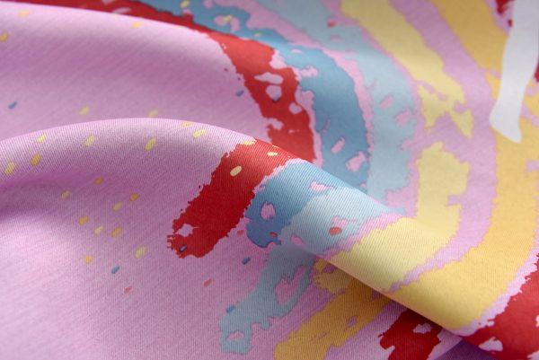 regenboog eenhoorn gordijn roze