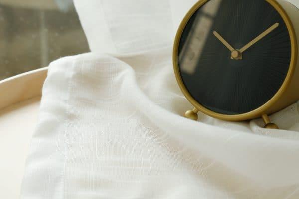 Wit vitrage gordijn