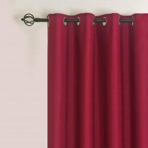 Verduisteringsgordijnen 100% donker fuchsia roze