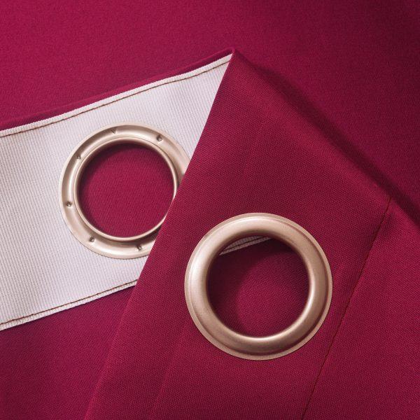 Verduisterings gordijnen 100% verduisterend licht roze