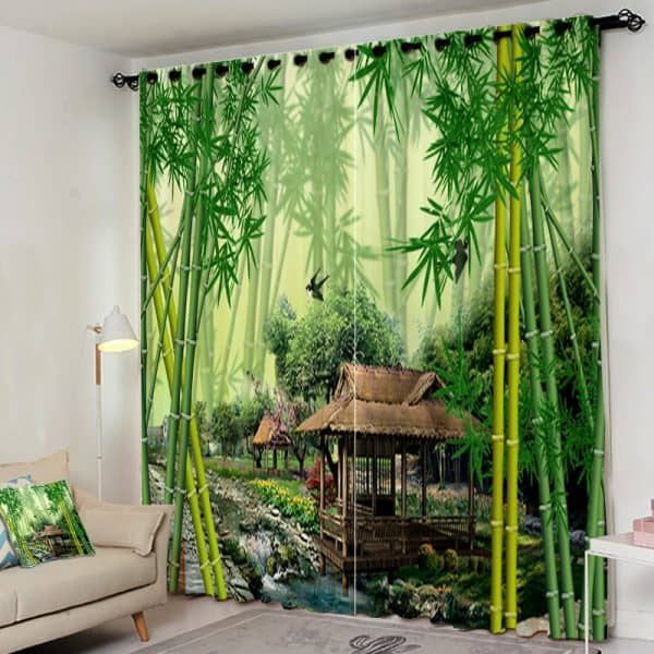 Bamboo gordijn