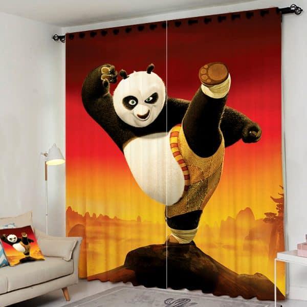 Kung fu panda gordijn