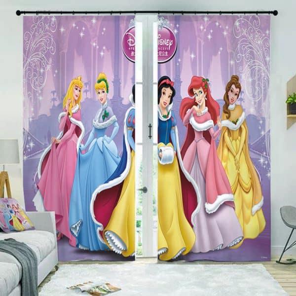 Disney prinsessen gordijn