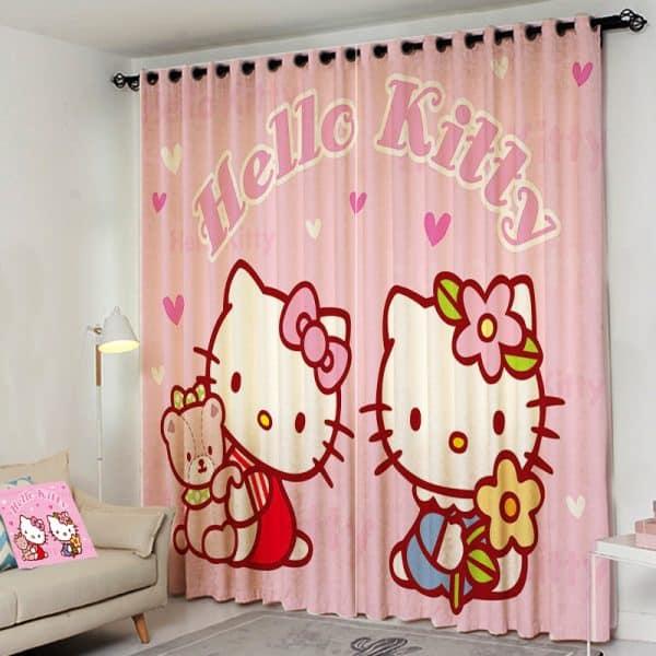 Hello Kitty gordijn