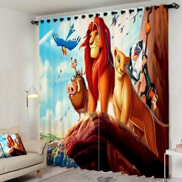 Lion King gordijn