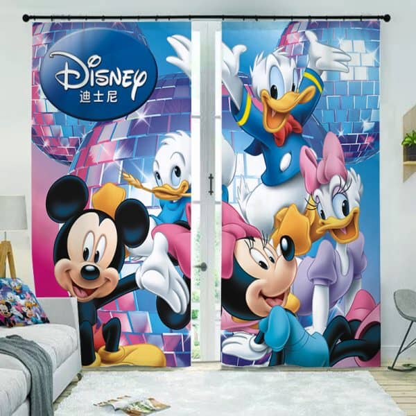 Disney gordijn