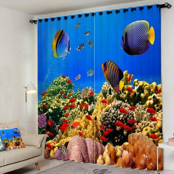 Vissen gordijn