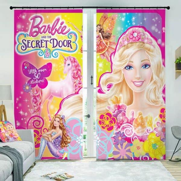 Barbie gordijn