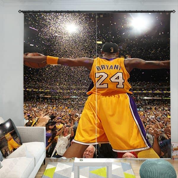 Kobe Bryant gordijn