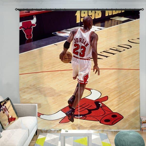 Michael Jordan gordijn