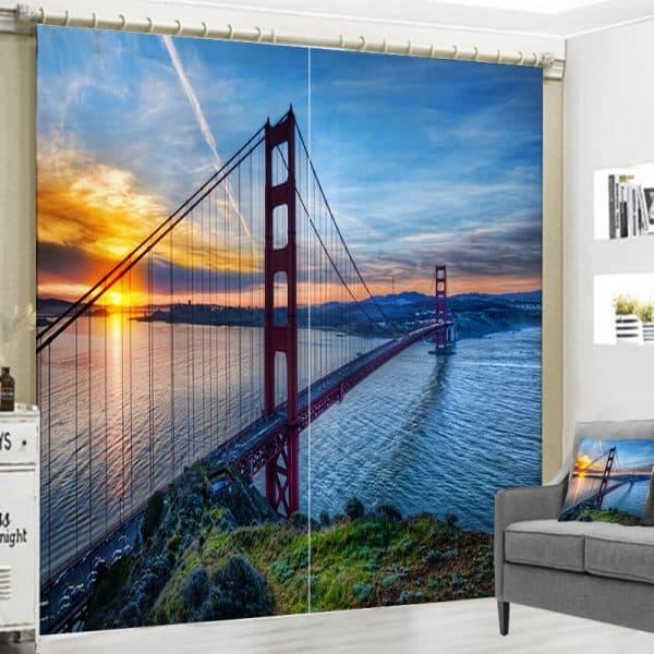 Golden Gate foto gordijn