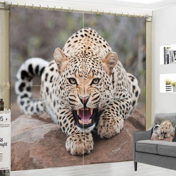 Cheetah foto gordijn