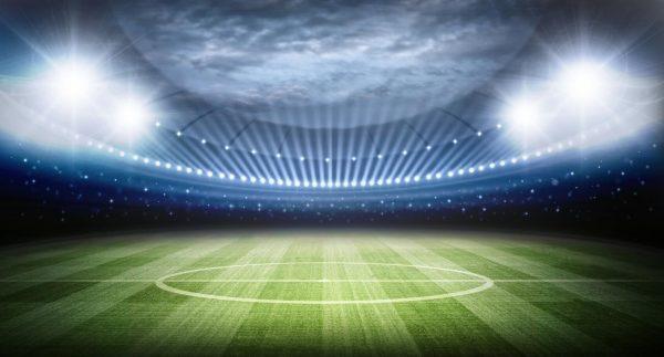 Voetbal stadion gordijn Leukekindergordijnen.nl