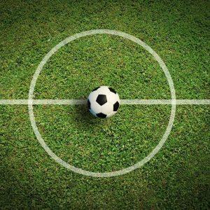 Voetbal middenstip