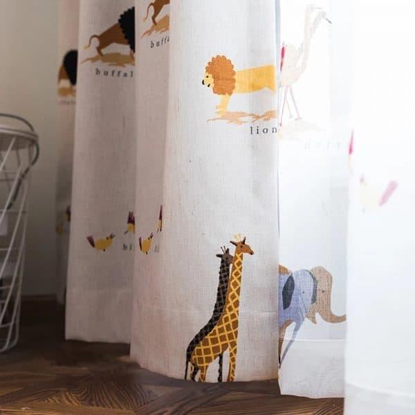 Safari Steppe gordijnen