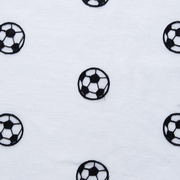Voetbal vitrage & glasgordijn